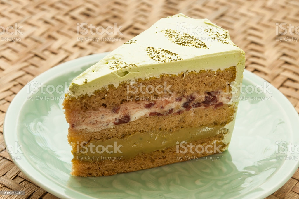 Japanese confectionery, Macha Cake Castella